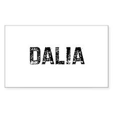 Dalia Rectangle Decal
