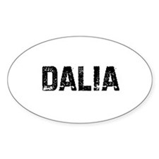 Dalia Oval Decal