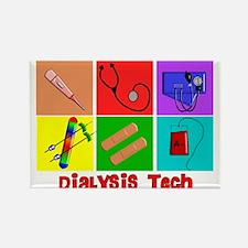 Unique Dialysis nurse Rectangle Magnet (10 pack)