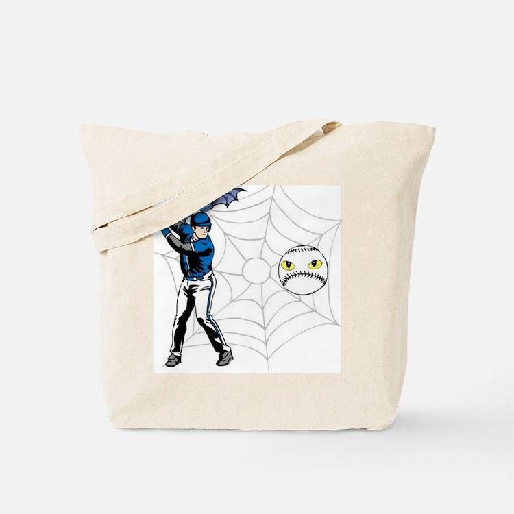 Baseball Bat Lrg Tote Bag