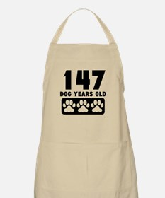 147 Dog Years Old Apron