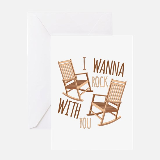 Rock With You Greeting Cards