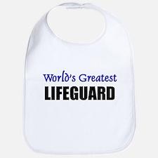 Worlds Greatest LIFEGUARD Bib
