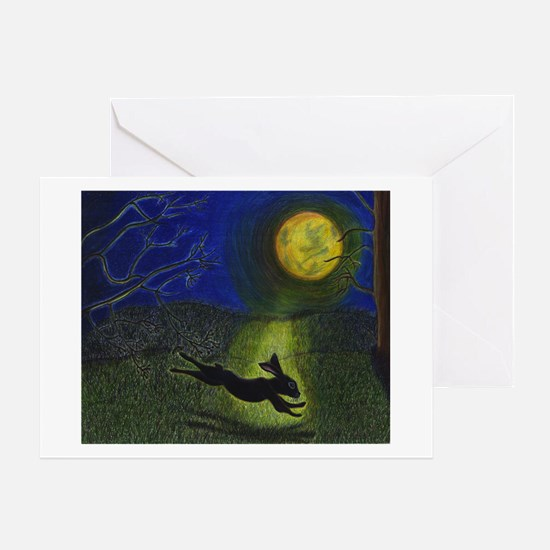 """""""In Moonlight"""" Cards (Pk of 10) Greeting Cards"""