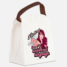 90210: Brenda Walsh Flirting Canvas Lunch Bag