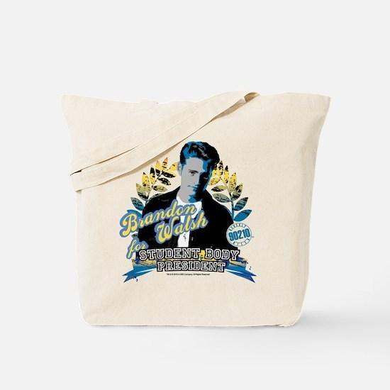 90210: Brandon Walsh Tote Bag