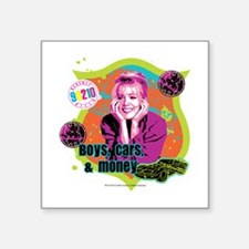 "90210: Kelly Taylor Boys,Ca Square Sticker 3"" x 3"""