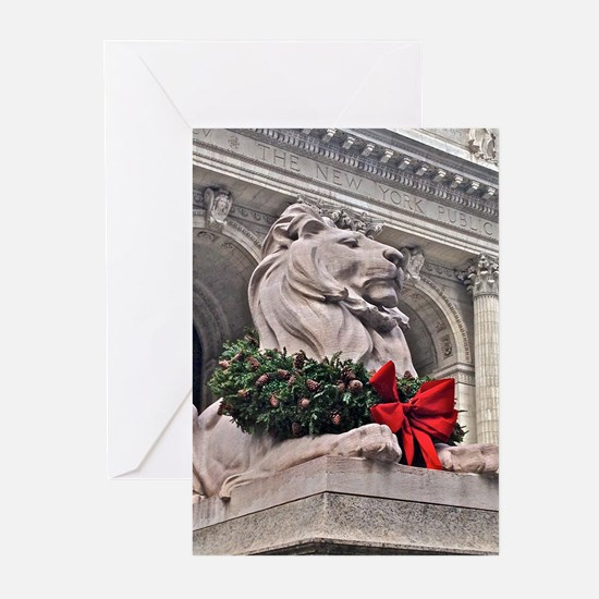 New York Public Library Lion Greeting Cards