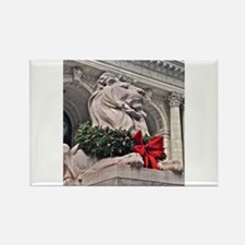 New York Public Library Lion Magnets
