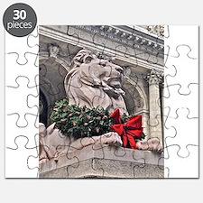 New York Public Library Lion Puzzle