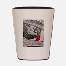 New York Public Library Lion Shot Glass