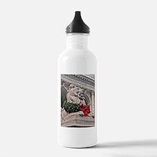 New York Public Library Lion Water Bottle