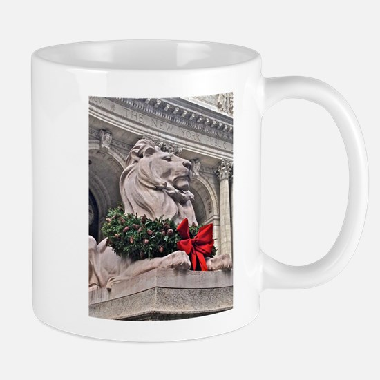 New York Public Library Lion Mugs