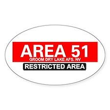 AREA 51 - GROOM LAKE Decal