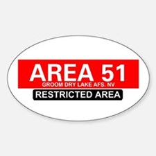 AREA 51 - GROOM LAKE Decal