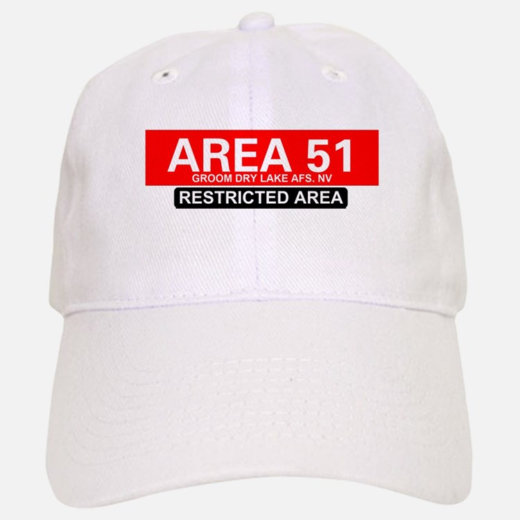 AREA 51 - GROOM LAKE Baseball Baseball Cap