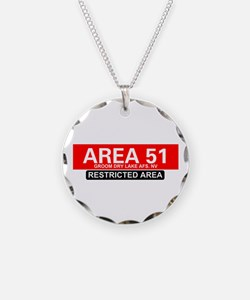 AREA 51 - GROOM LAKE Necklace