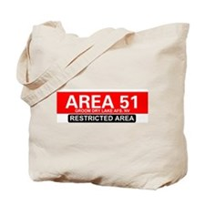 AREA 51 - GROOM LAKE Tote Bag