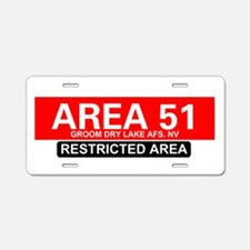 AREA 51 - GROOM LAKE Aluminum License Plate