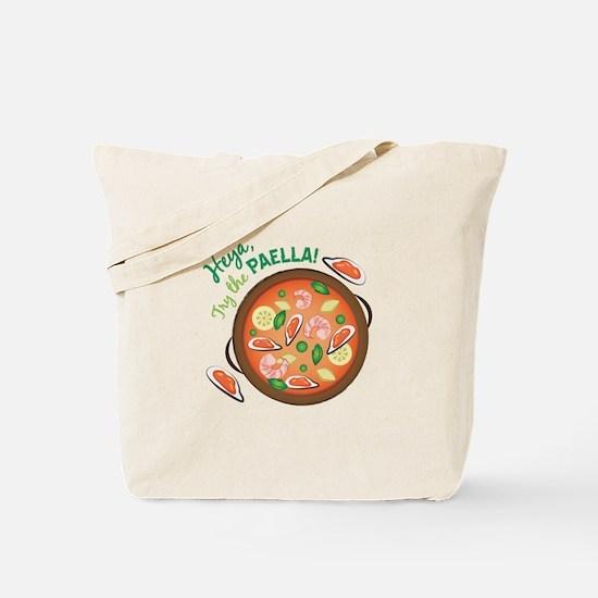 Heya Paella Tote Bag