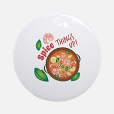 Spice Up Round Ornament