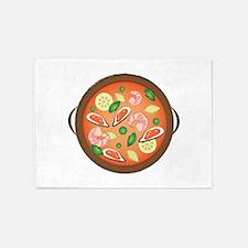 Seafood Paella 5'x7'Area Rug