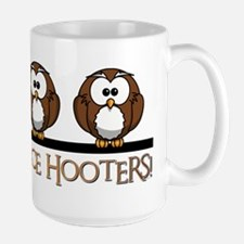 NICE HOOTERS Mugs