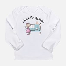 Cute Little brother Long Sleeve Infant T-Shirt