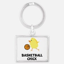 Cute March madness Landscape Keychain