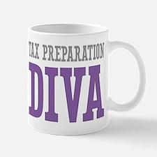 Tax Preparation DIVA Mugs