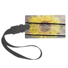Unique Wildflowers Luggage Tag