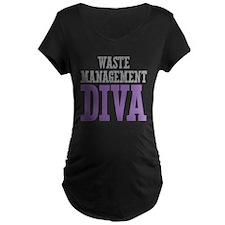 Waste Management DIVA Maternity T-Shirt