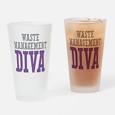 Waste Management DIVA Drinking Glass