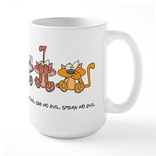 HEAR NO EVIL... Mug