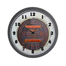 Manhattan Beach Open Champions Wall Clock