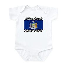 Montauk New York Infant Bodysuit