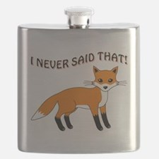 I NEVER SAID THAT! Flask