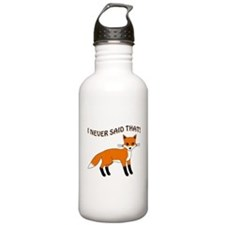 I NEVER SAID THAT! Water Bottle