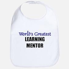 Worlds Greatest LEARNING MENTOR Bib