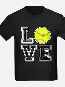 Love Softball T