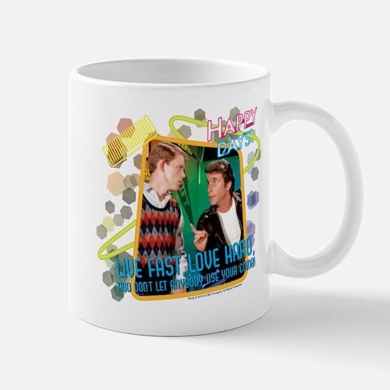 Happy Days: Love Fast Love Hard Mug