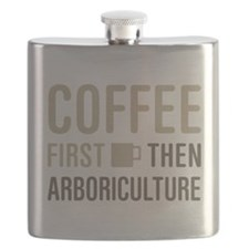 Coffee Then Arboriculture Flask
