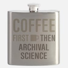 Coffee Then Archival Science Flask