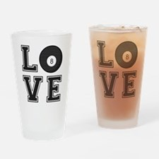 Love Pool / Billiards Drinking Glass