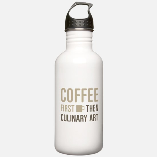 Coffee Then Culinary A Water Bottle