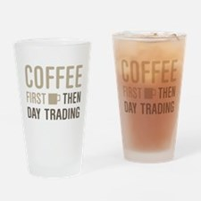 Coffee Then Day Trading Drinking Glass