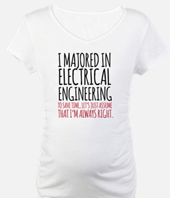 Electrical Engineer Major Shirt