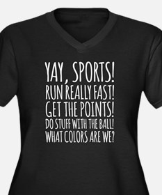 Yay Sports! Plus Size T-Shirt
