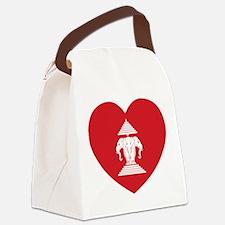 Laotian Erawan 3 Headed Elephant Heart Flag Canvas