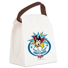 The One The Only Mighty Mouse Canvas Lunch Bag